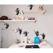 Cute Monsters Wall Decal