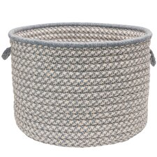 Soft Houndstooth Blends Utility Basket