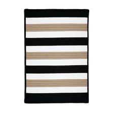 Portico Sharp Black Indoor/Outdoor Area Rug