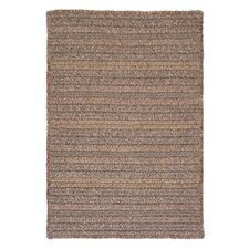 Texture Woven Rich Brown Area Rug