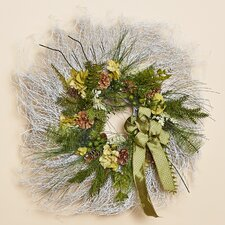 Enchanted Forest White Twig Wreath