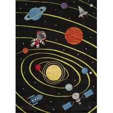 Lil Mo Whimsy Tufted Planets Kids Area Rug