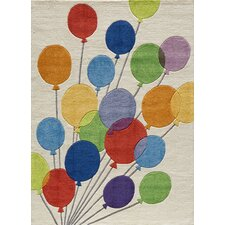 Lil Mo Whimsy Balloon Kids Rug