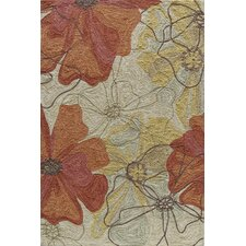 Summit Bold Floral Sand Area Rug