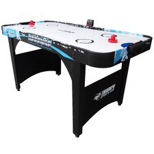 Defense 5' Air Powered Hockey Table with Electronic Scorer