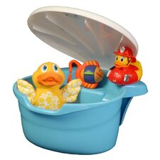 The Potty Scotty Tub Toy Organizer by in Blue