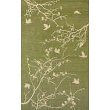 Elsa Green Plum Blossom Indoor/Outdoor Rug