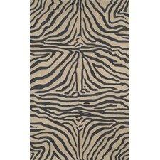Ravella Black Zebra Outdoor Rug