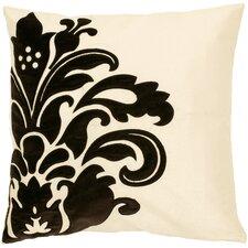 Demure Damask Throw Pillow