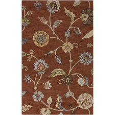 Sprout Rust Rug