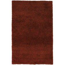 Venetian Rust Solid Area Rug