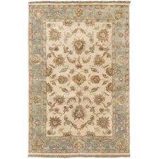 Timeless Ivory Oriental Area Rug