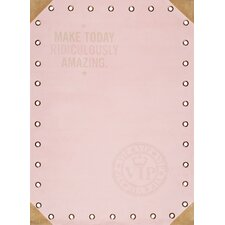 Quote Kids Pastel Pink Area Rug