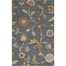 Sprout Gray Floral Rug