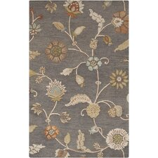 Sprout Slate Floral Rug