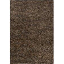 Papyrus Texture Chocolate Area Rug
