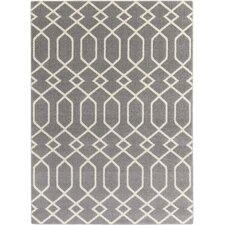 Horizon Grey/Ivory Geometric Area Rug