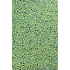 Houseman Kelly Green/Lime Area Rug