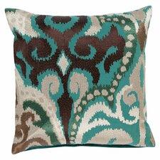 Radiant Swirl Throw Pillow