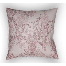Moody Damask Throw Pillow
