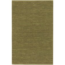 Continental Lime Green Area Rug
