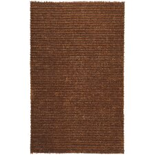 Harvest Copper Brown/Tan Solid Area Rug
