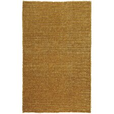 Harvest Gold Solid Area Rug