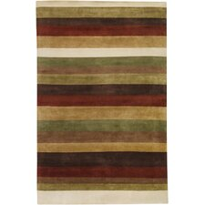 Dimensions Yellow/Red Area Rug