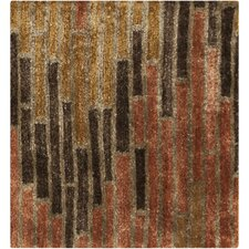 Platinum Stone/Golden Brown Rug