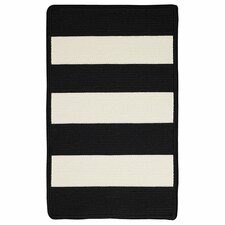 Willoughby Black/White Indoor/Outdoor Area Rug