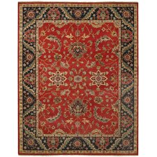 Renown Scarlet Red Area Rug