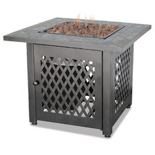 Uniflame Cast Iron Fire Pit Table