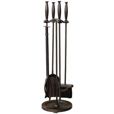 5 Piece Fireplace Tool Set