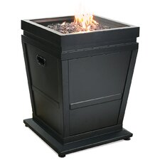 Stainless Steel LP Gas Outdoor Fireplace