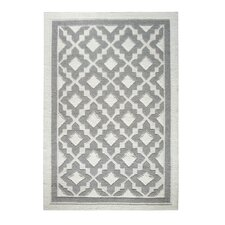 Studio Ivory/Silver Hand Woven Area Rug
