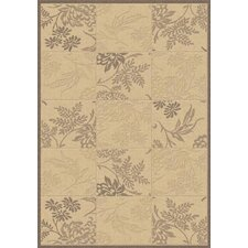 Piazza Brentwood Natural/Brown Area Rug