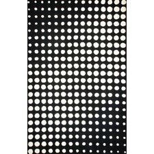 Aria Black/White Area Rug