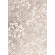 Eclipse Ivory Flowers Area Rug