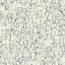 """9 Selvas De Mariscal 33' x 21"""" Mil Caras Wallpaper"""