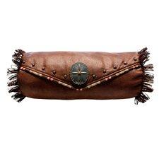 Saddle with Laramie Welt Envelope Neck Roll Bolster Pillow