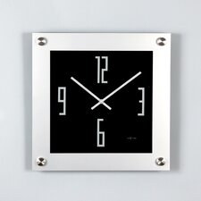 "15.7"" ""Steel"" Wall Clock"