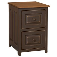 Genesis 2 Drawer Mobile Vertical File Cabinet