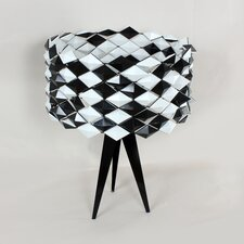 The Black Jack Table Lamp with Drum Shade