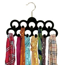 11 Ring Closet Hanger (Set of 3)