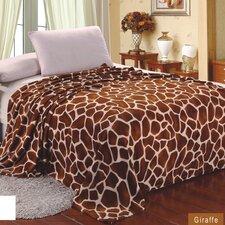 Giraffe Super Soft plush Throw Blanket