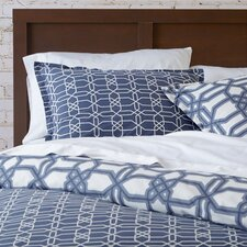 Trellis Comforter Set in Gunmetal