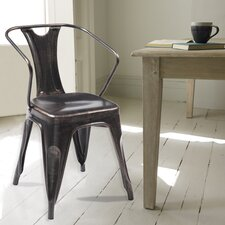 Industrial Arm Chair (Set of 2)