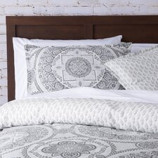 Braden Medallion Duvet Cover Set