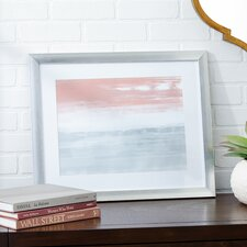 Sunrise Framed Painting Print on Canvas