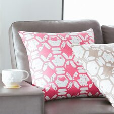 Throw Pillow in Pink
